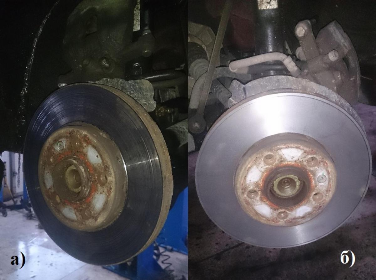 Какой должен быть износ тормозных дисков. Допустимая толщина, как определить, когда менять
