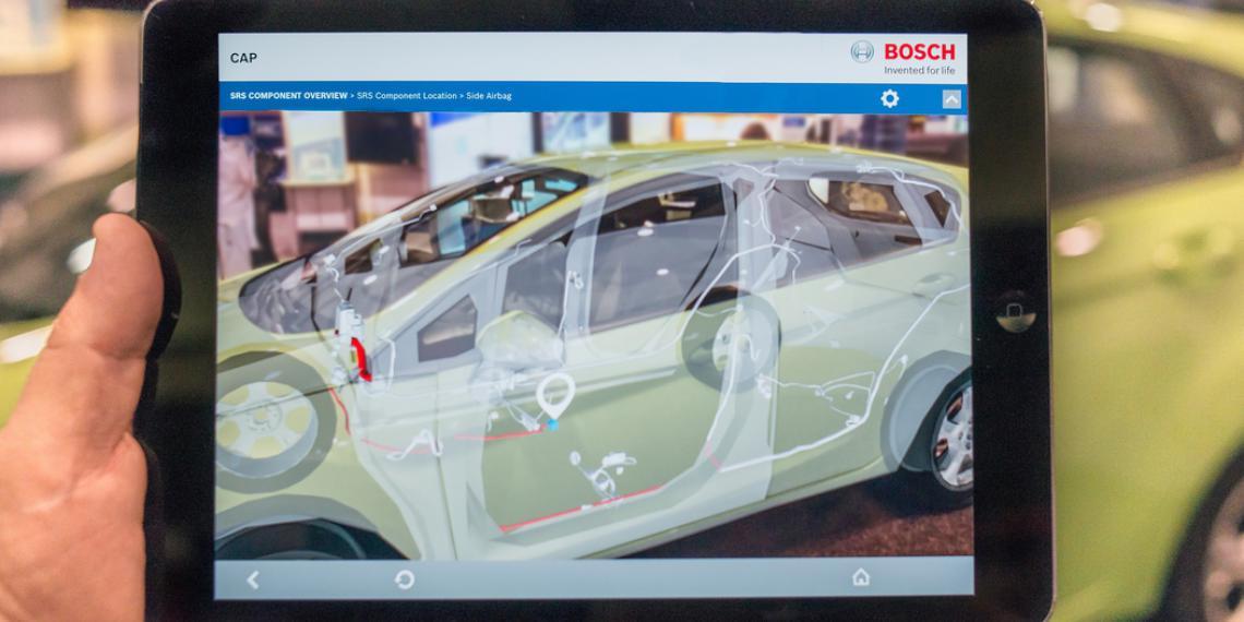Bosch представит «умные» решения для СТО во Франкфурте