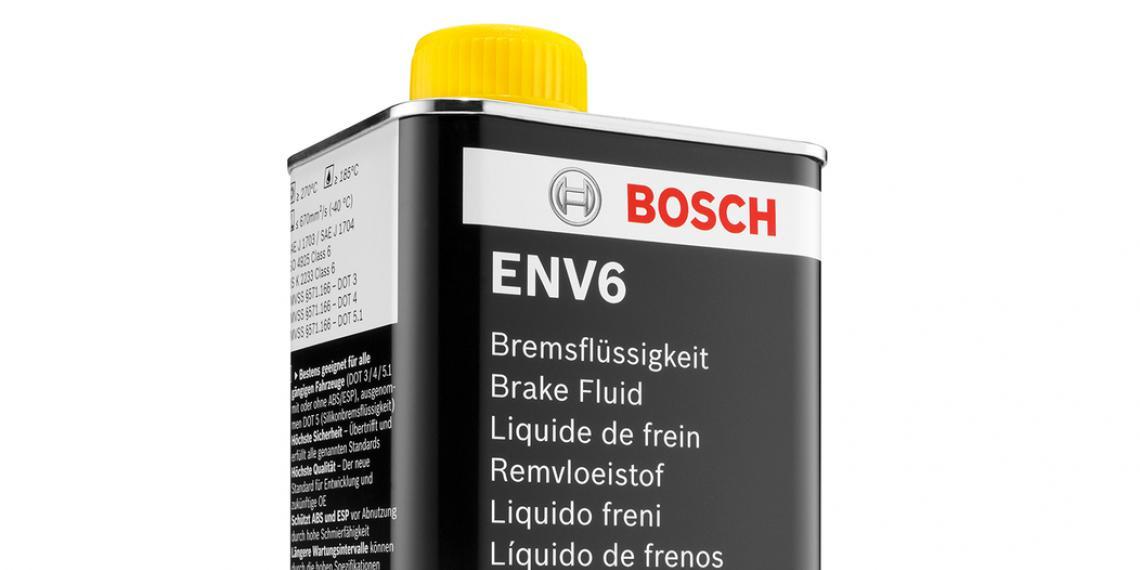 Новые тормозные жидкости Bosch ENV4 и ENV6