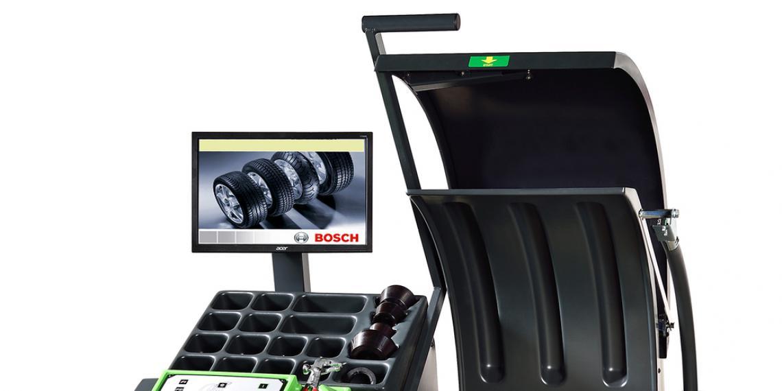 Новое оборудование для шиномонтажных мастерских от Bosch