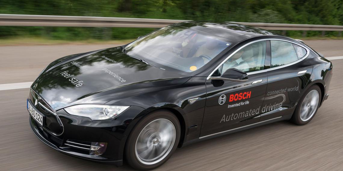 Технологии Bosch для автоматизированного вождения
