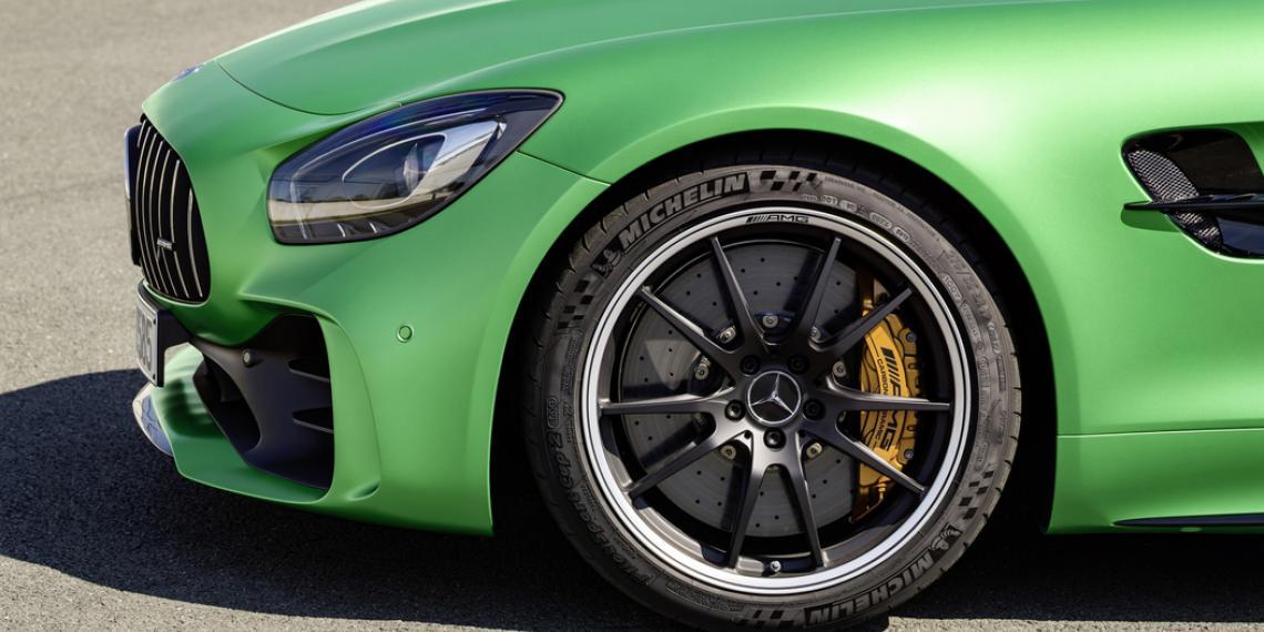 MICHELIN разработал шины для нового Mercedes-Benz AMG GT R