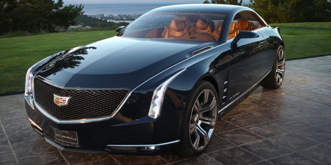 Новый сверхмощный восьмицилиндровый двигатель Cadillac