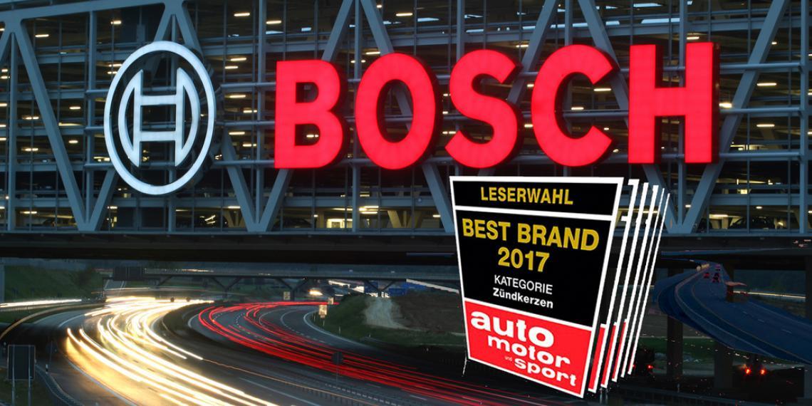 Bosch признали лучшим брендом 2017 года в шести номинациях