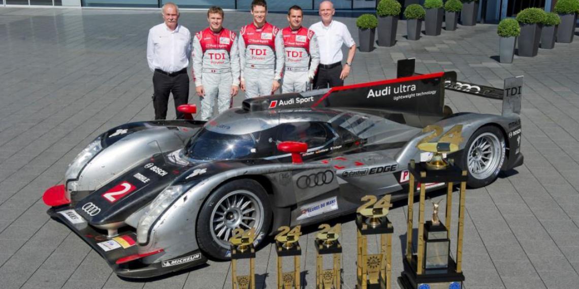 Audi и Castrol испытание на прочность