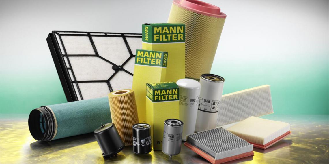 Воздушный фильтр новой конструкции