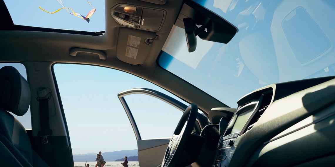 Панорамные крыши Webasto для новинок Hyundai
