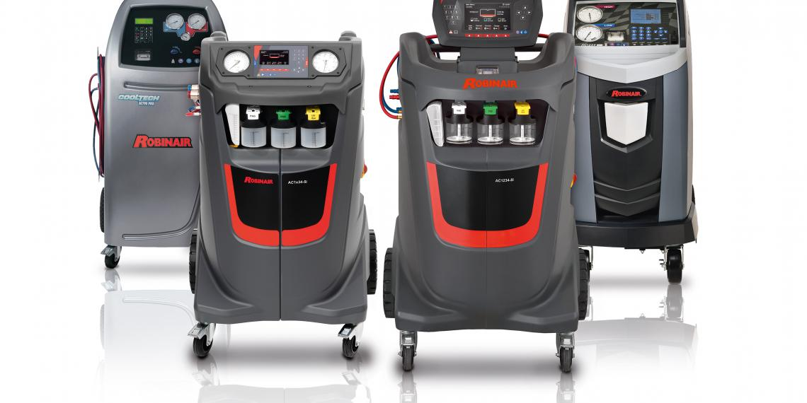 Robinair показал новую линейку оборудования