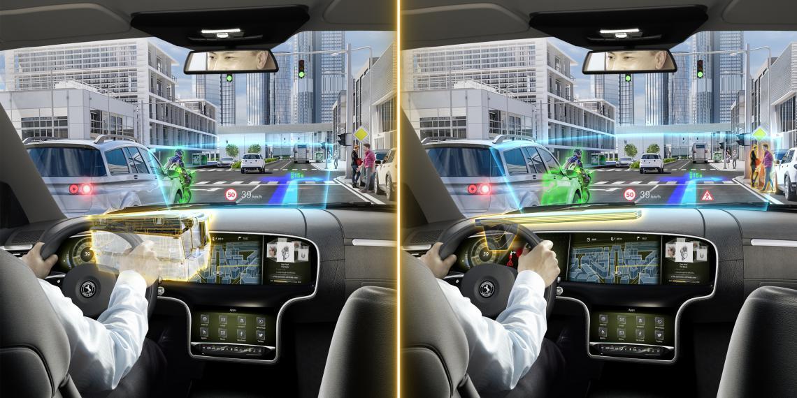 Continental запускает новейшую технологию дополненной реальности