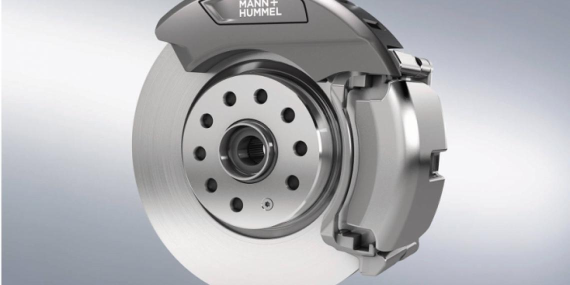 MANN + HUMMEL разработал фильтр для улавливания тормозной пыли