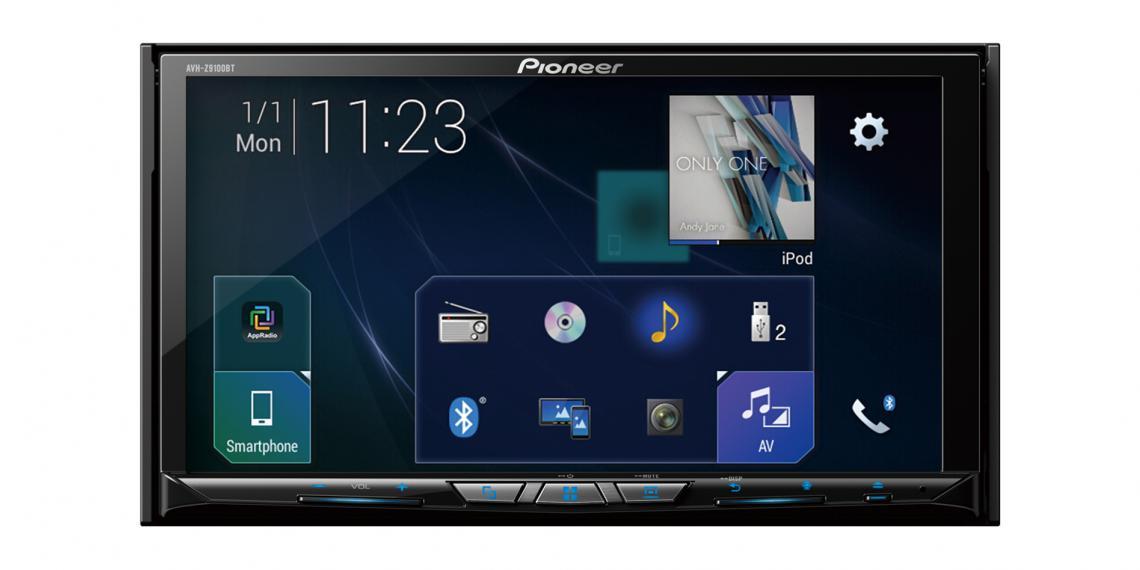 Pioneer задает новый уровень для мультимедийной системы