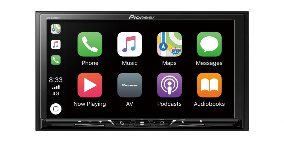 Pioneer показал мощное мультимедийное процессорное головное устройство