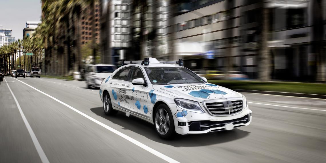 Bosch и Daimler запускают новую услугу