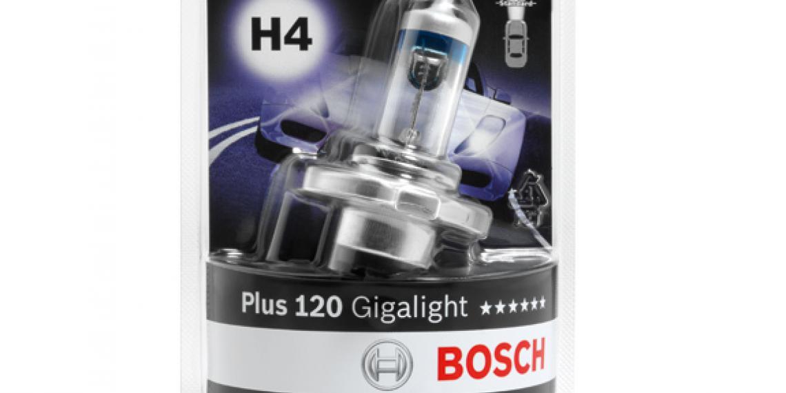 Bosch вводит новую упаковку для ламп
