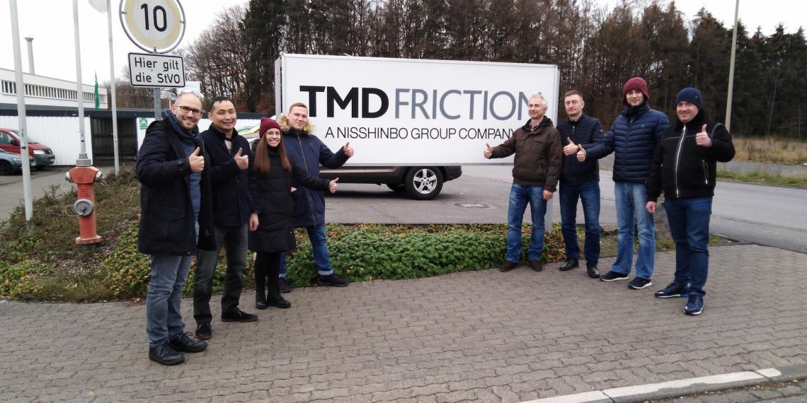 TMD Friction премировала лучшего регионального дистрибьютора