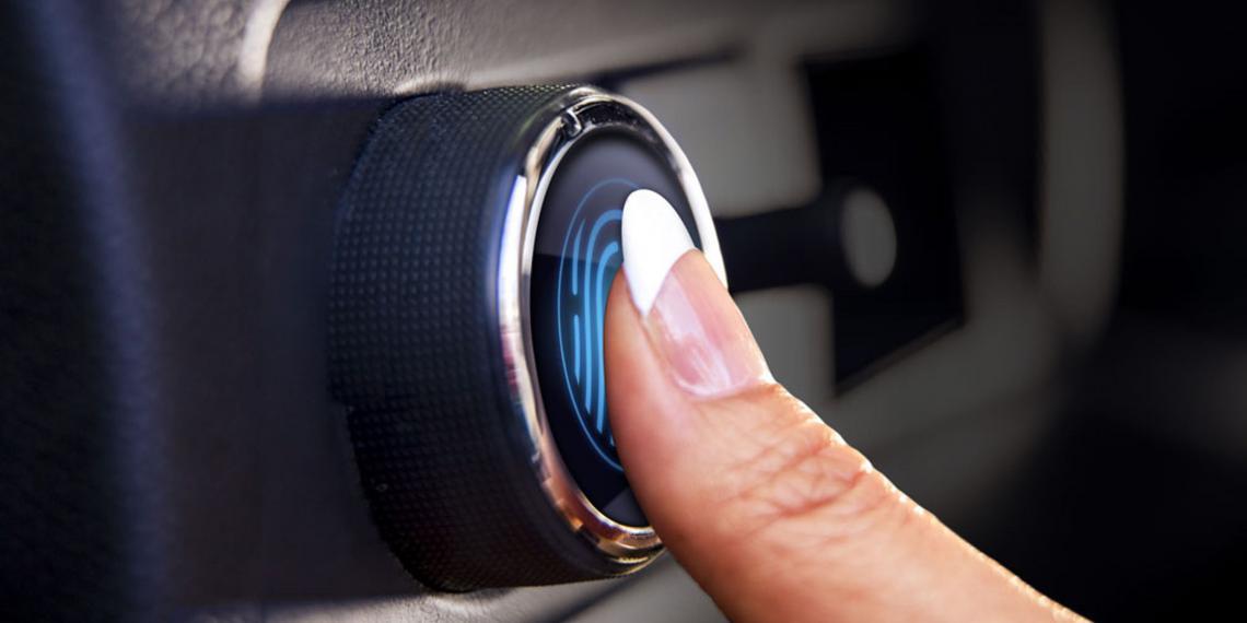 Новые Hyundai открываются с отпечатка пальца