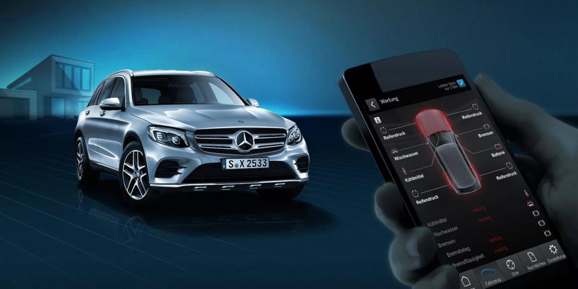 Новые онлайн-сервисы Mercedes-Benz