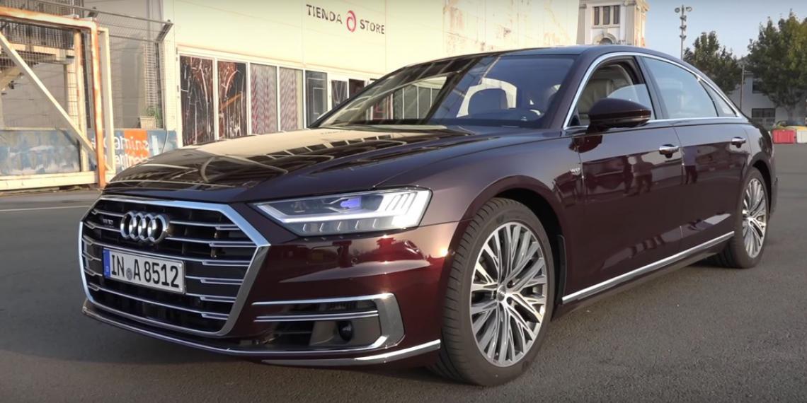 Светодиодные фары Osram для Audi A8