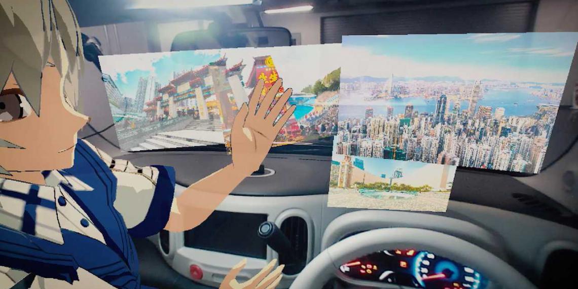 Новая система Nissan видит невидимое