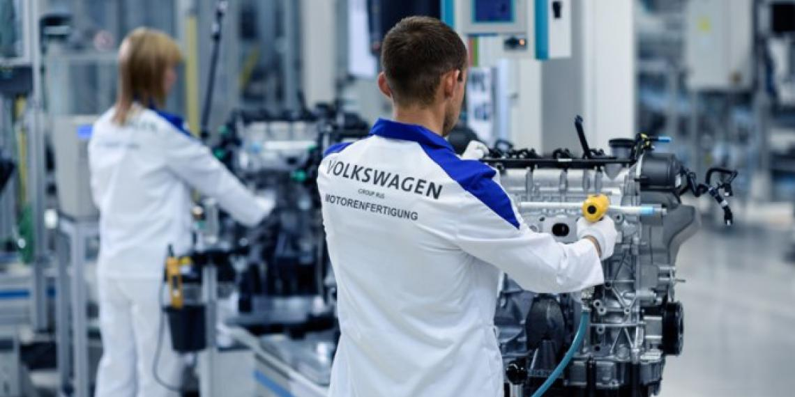 400-тысячный двигатель Volkswagen