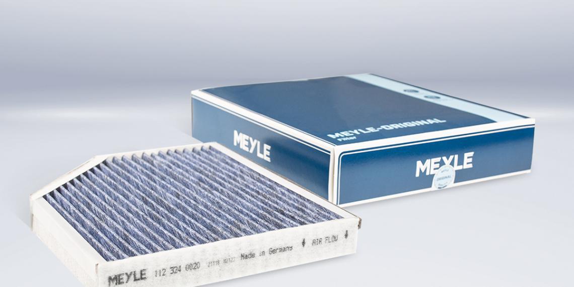 Новый фильтр MEYLE защищает от бактерий и плесени