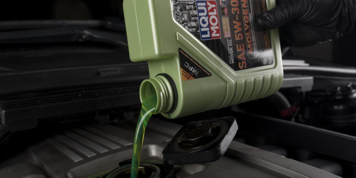 Светящееся зеленое масло LIQUI MOLY