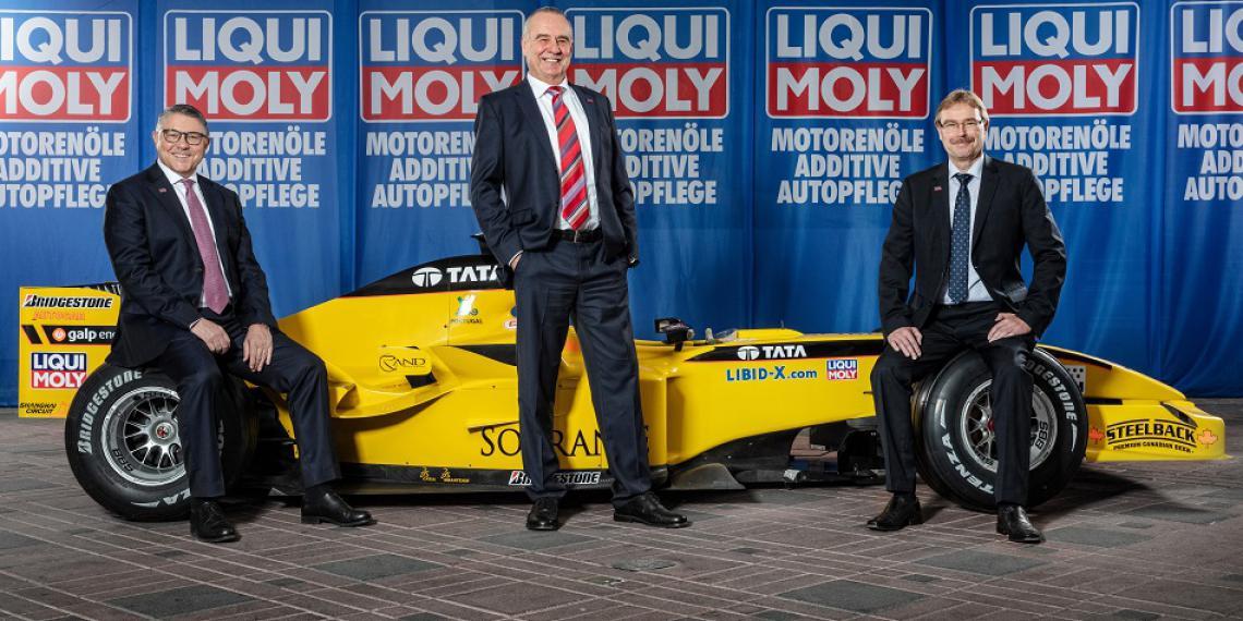 Liqui Moly возвращается в Formula-1