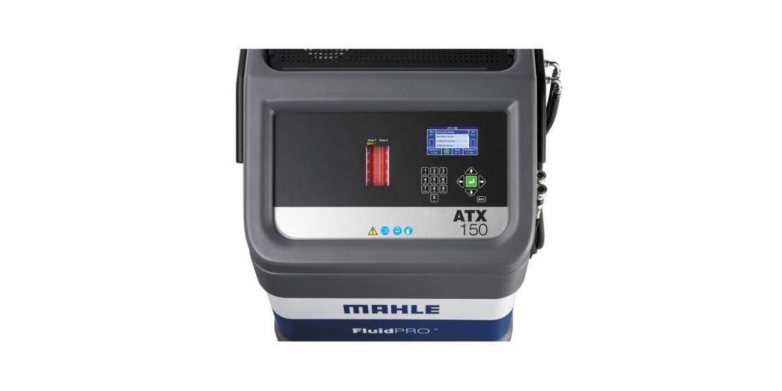 Новая модель установки для замены масла MAHLE