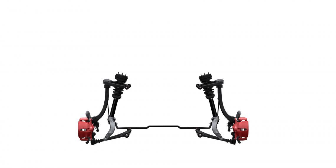 Подвеска Tenneco для полностью электрического Jaguar I-PACE