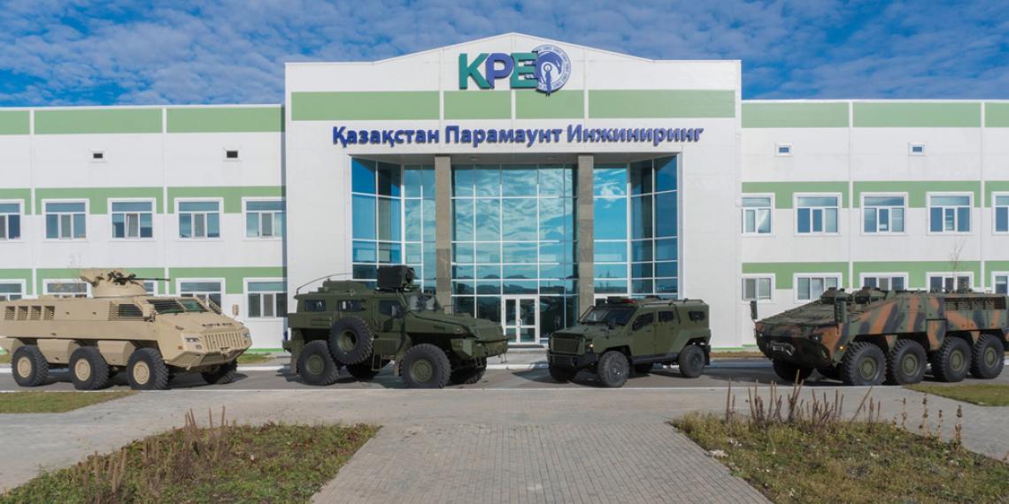 Allison оснастил бронемашины в Казахстане