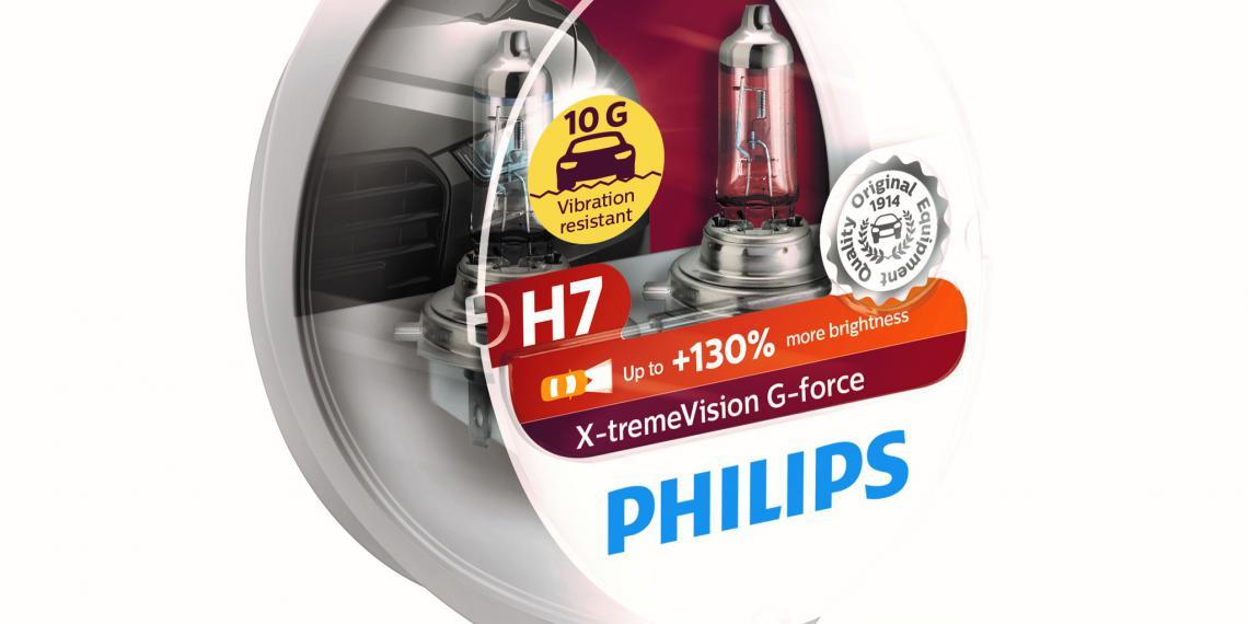 Новые виброустойчивые лампы Philips