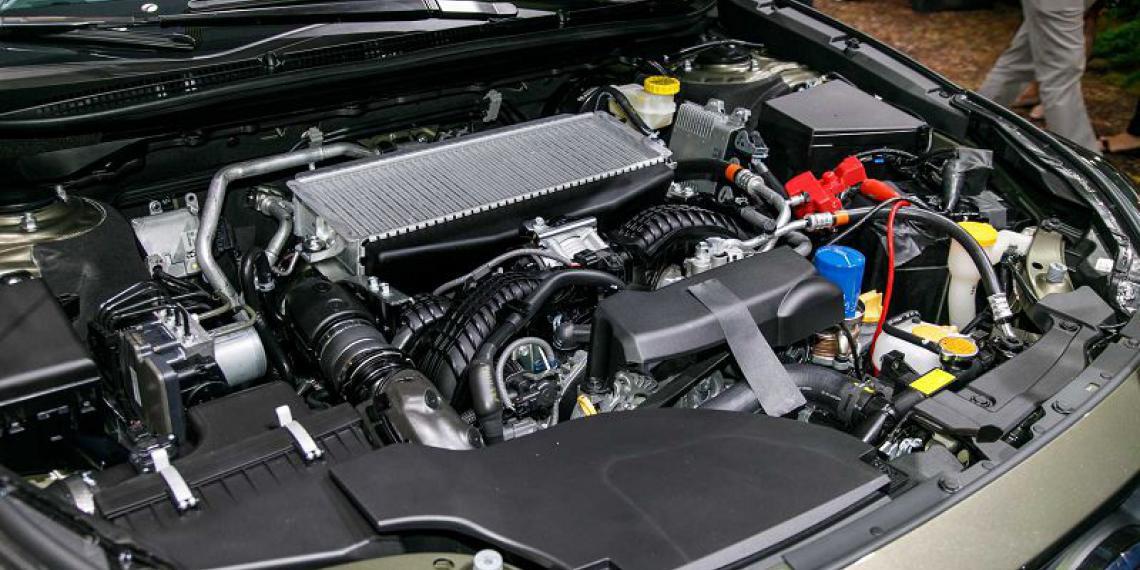 Новое поколение Subaru Outback с новым мотором