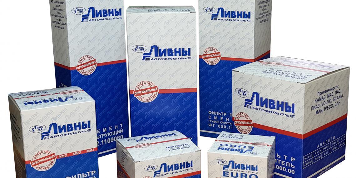 Фильтры Ливны в новой упаковке