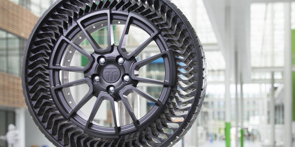 Мишлен и General Motors создадут безвоздушные шины
