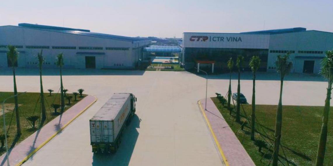 Новая промышленая площадка CTR во Вьетнаме с Корейским качеством
