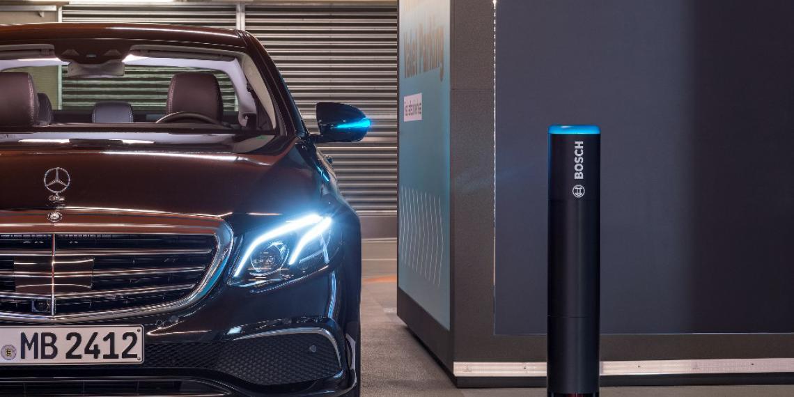 Bosch и Daimler получили разрешение на технологию парковки без участия водителя