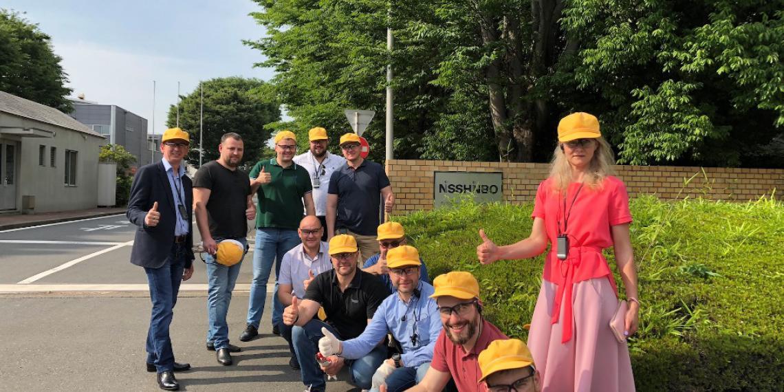 TMD Friction показал клиентам завод в Японии