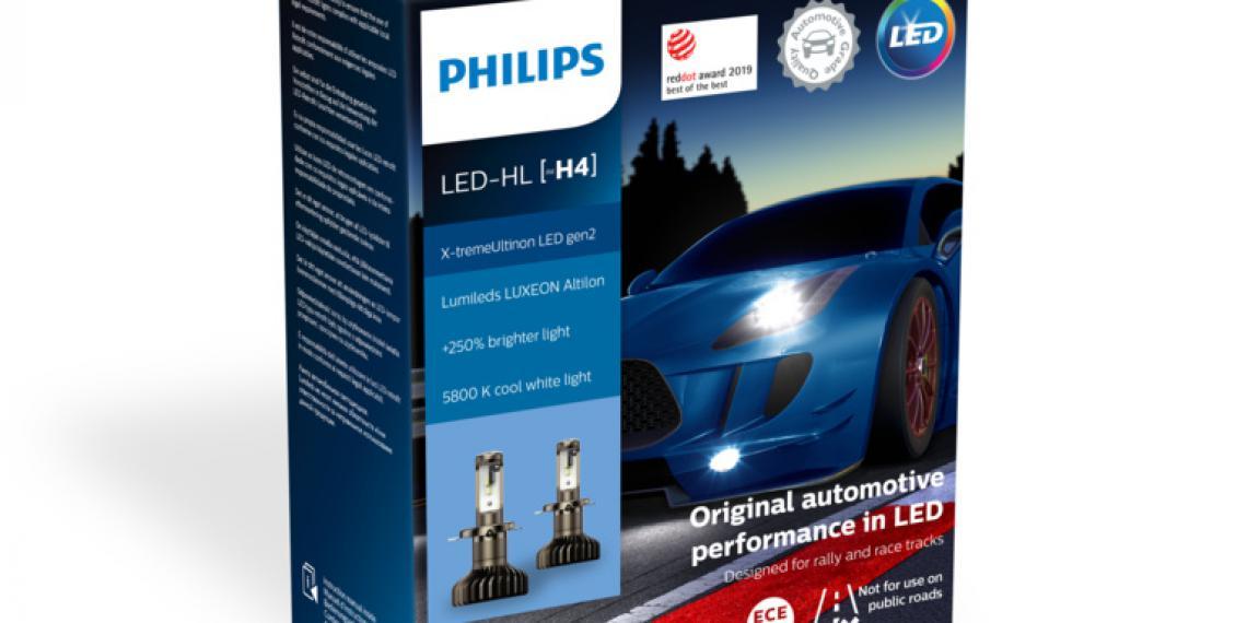 Светодиодная лампа Philips получила награду