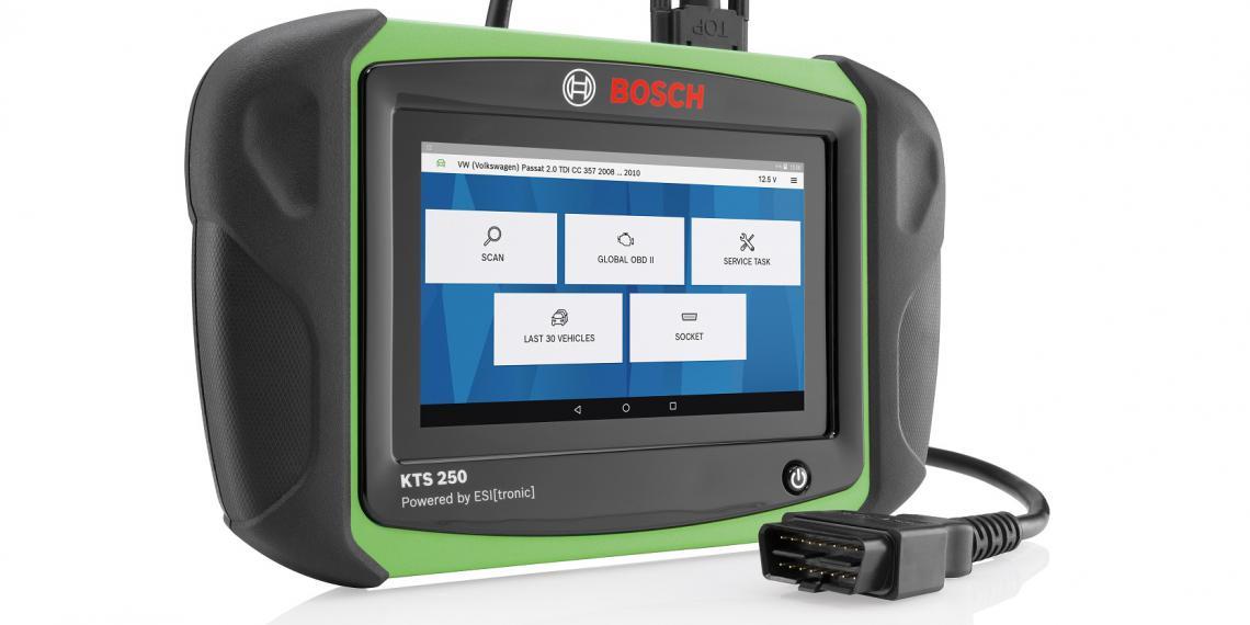 Новый компактный диагностический сканер Bosch