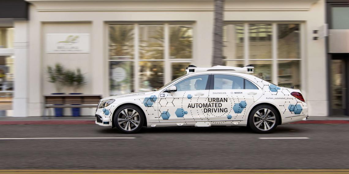 Bosch и Mercedes тестируют совместный сервис по беспилотному каршерингу