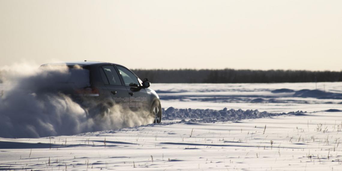 Bridgestone протестировала шины при низких температурах