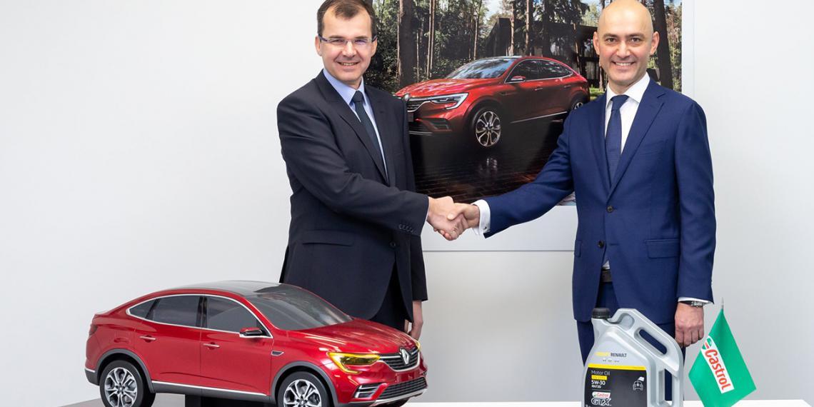 Castrol производит специальное масло для Renault