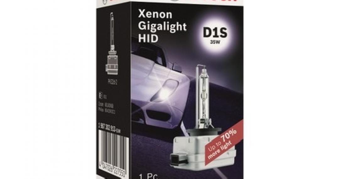 Bosch представила новую линейку ксеноновых ламп