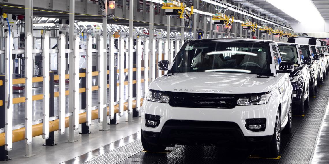 Заводы Jaguar Land Rover в Великобритании приостановили работу