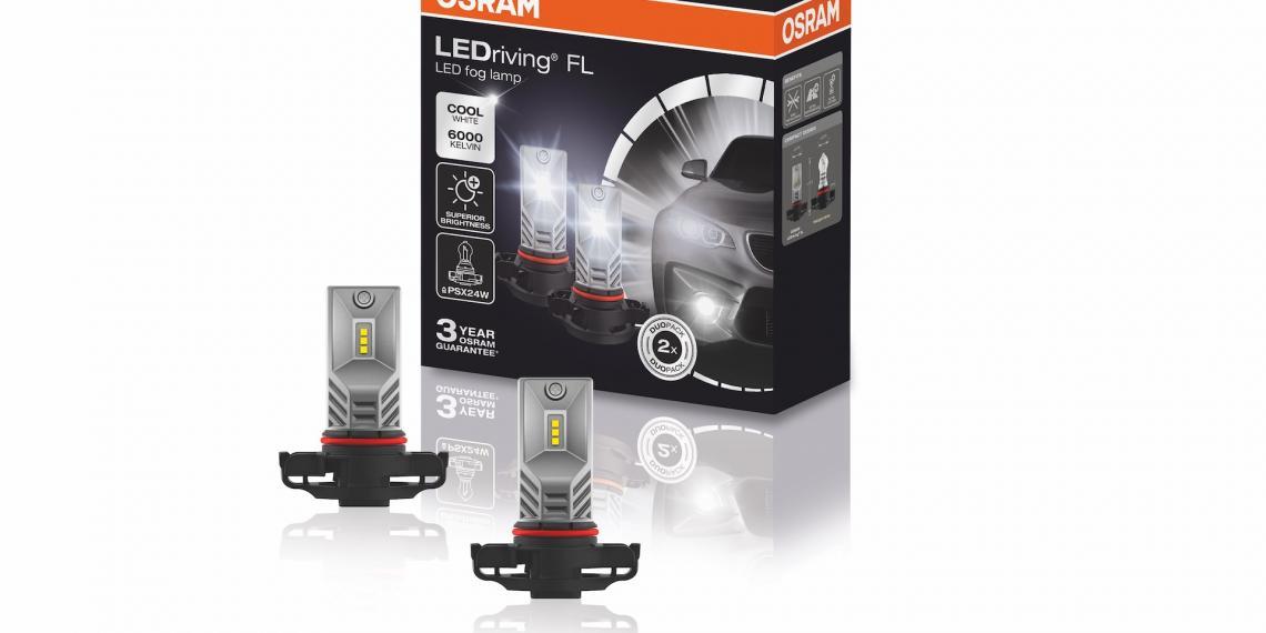 Новое поколение противотуманных ламп Osram
