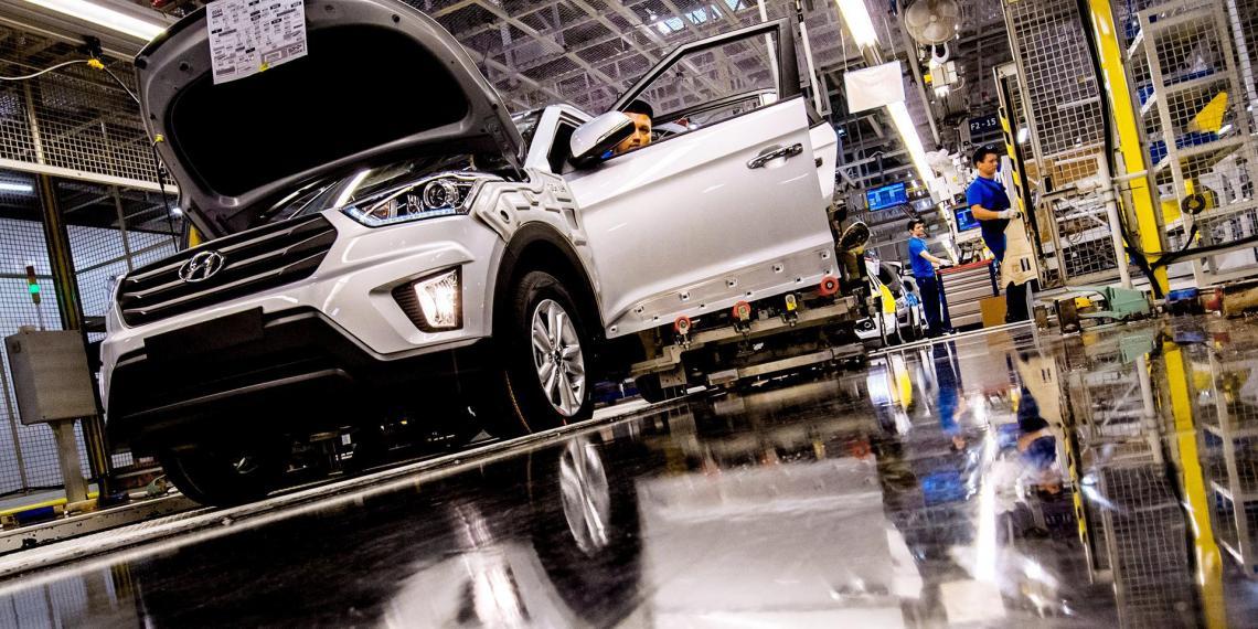 Отмечено снижение производства автомобильной техники