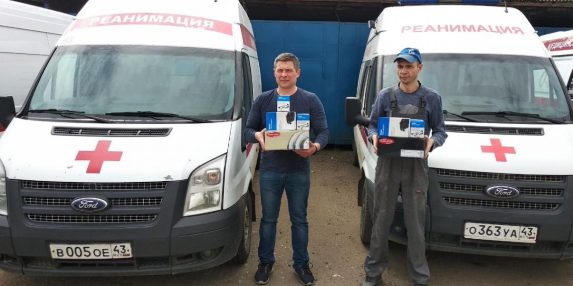 Delphi подарила запчасти станциям скорой помощи