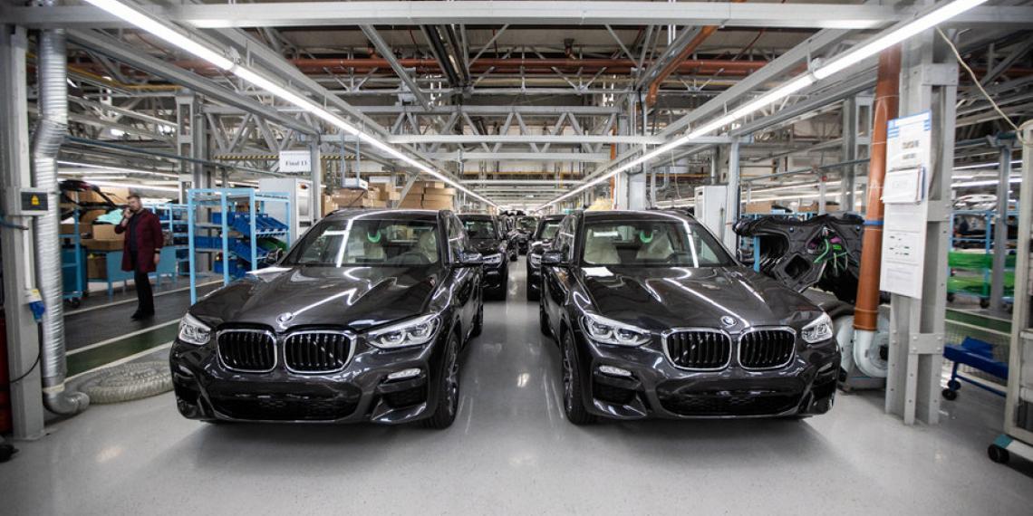 Автотор остановит сборку BMW из-за недостающих комплектующих
