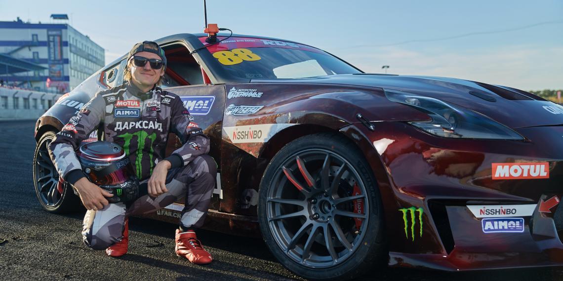 Новый дрифт-кар Аркадия Цареградцева дебютировал в RDS GP 2020
