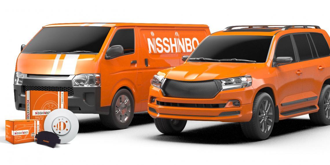 Новый фрикционный материал колодок Nisshinbo